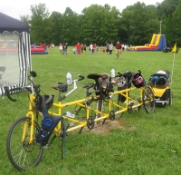 Our Quint bicycle at the Blast
