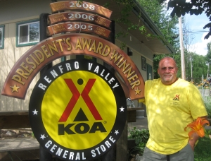 Marty from Renfro Valley KOA KY