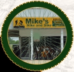 Mike's Hike and Bike logo